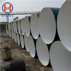 API 5L X42 X46 SSAW Weld Steel Pipe, Spiral Submerged Arc Piling Pipe