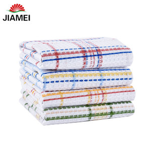 cheap cotton disposable dish cloths / kitchen tea towel in wholesale