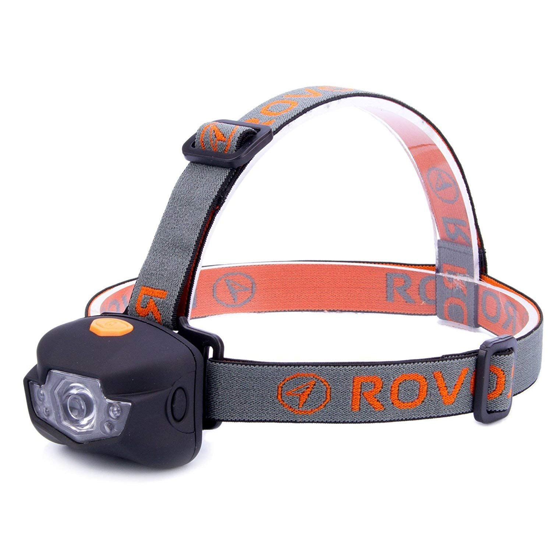 Rovor Martel BuddyBlinder 4 Mode LED Headlamp Flashlight - 150 Lumen Headlamps for Camping