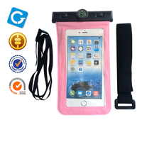 High Quality Universal Water Proof PVC Mobile Phone Cases Waterproof Bag/Pouch ,Water Proof Cell Phone