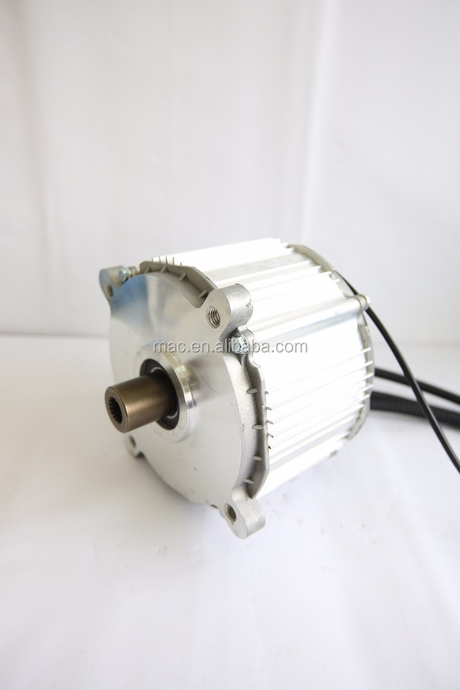 MAC brushless dc <strong>motor</strong> for electric car engine