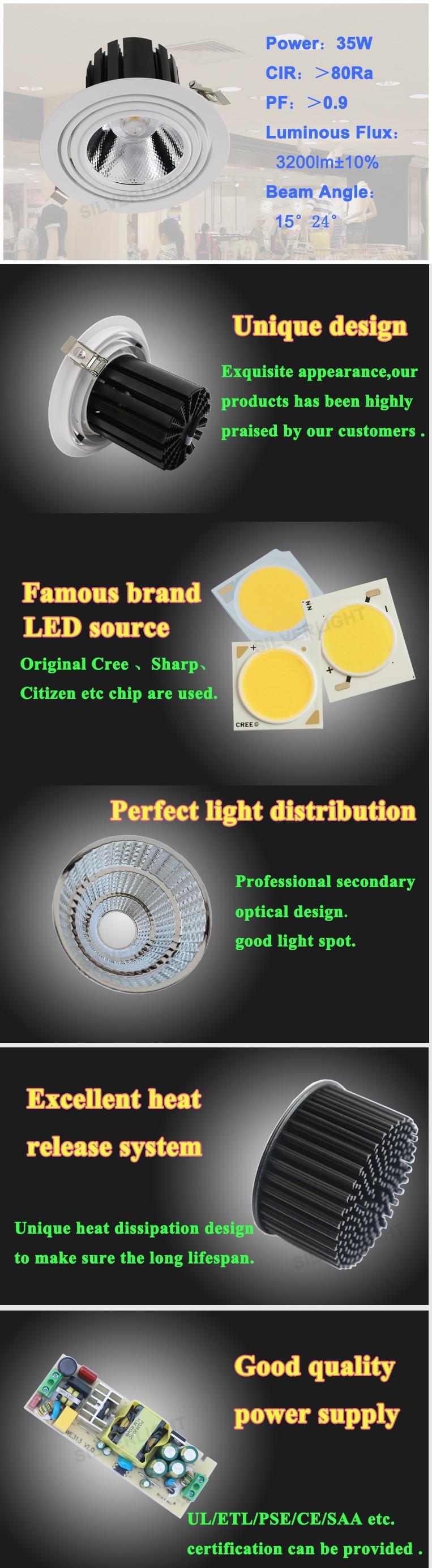 Recessed Retrofit Led Ceiling Light Adjustable 6 Inch Led ...