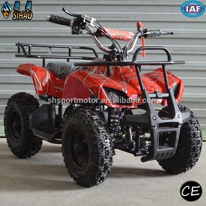 SHATV-007 kids gas powered atv 50cc quad atv 4 wheeler