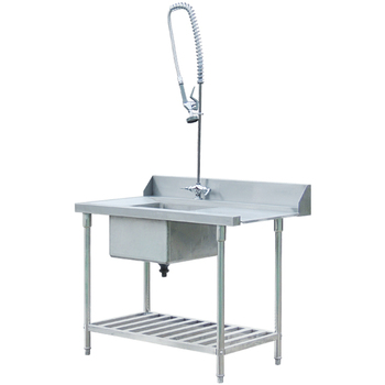 BN-W20 commercial restaurant equipment stainless steel dishwasher table
