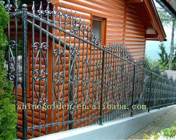 Vintage Mysterious Europe Design Wrought Iron Fence Buy Antique Wrought Iron Fenceiron Fence Designarts And Crafts Wrought Iron Fence Product On