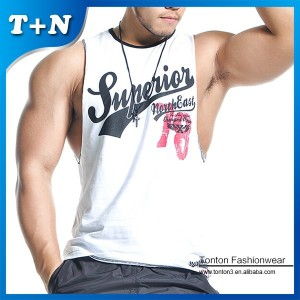 custom made fitness tank tops mens sports gym clothing