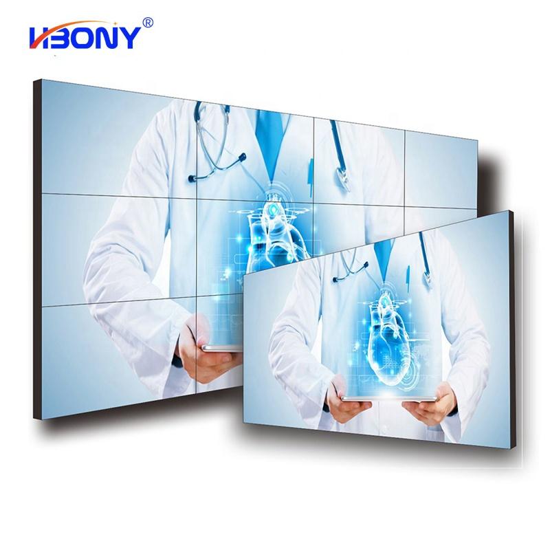 55 inch LCD ĐÃ Nối Video Tường Điều Khiển 2x2 3x3 1x2 1x4