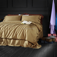 High quality bed sheet 100% cotton hotel living 5 star luxury home bedding set