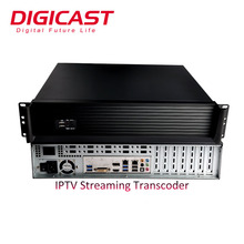 H.265/HEVC FHD 1080 P/60fps 4 K Server di <span class=keywords><strong>Streaming</strong></span> IPTV Sistema Per Transcoder