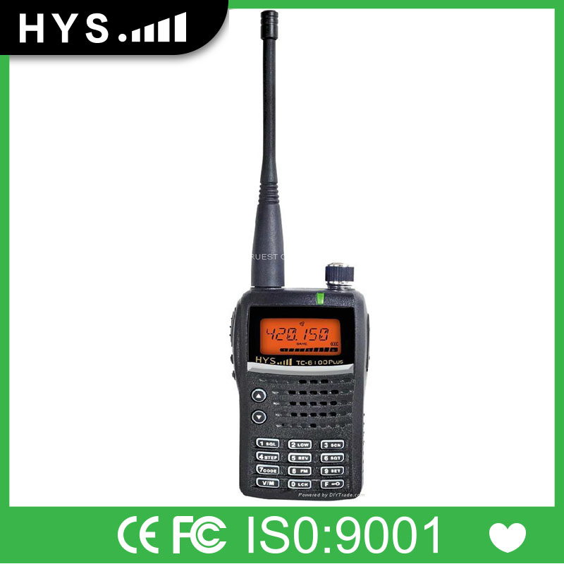 Long Distance Frequency Radio With LPD/FRS/PMR Shift TC-6100PLUS