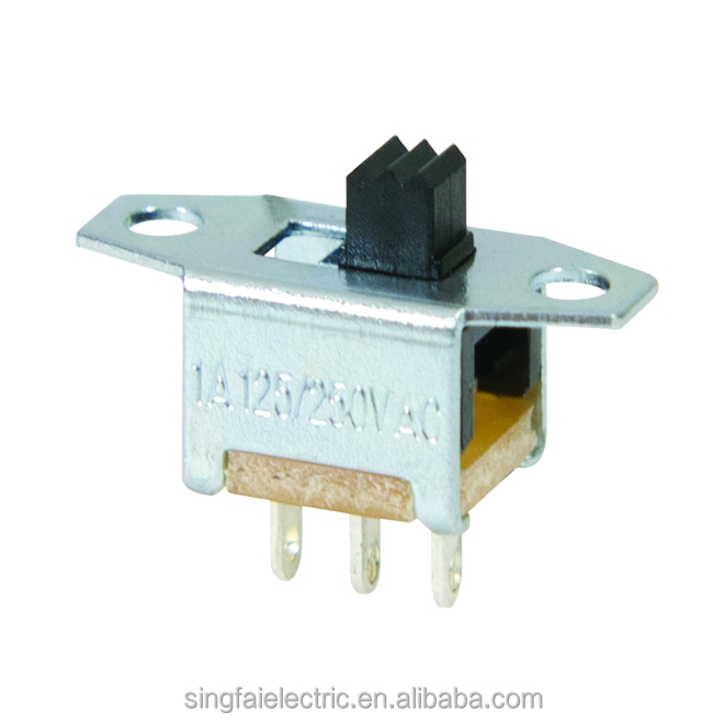high quality slide switch 3 pin/small toggle switch/spdt slide switch