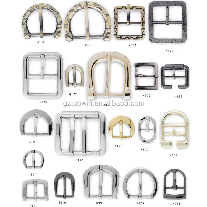 Top quality D ring snap hook accessories metal bag buckle for handbag