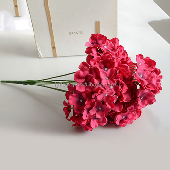 140520 Beautiful Scenery Decorating Home Artificial Rosy Red Bouquet