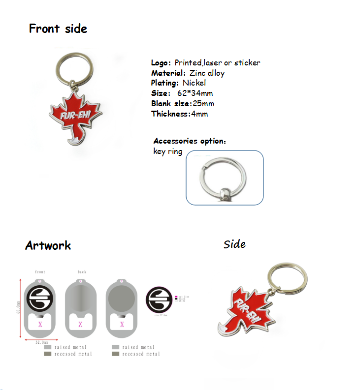 custom logo metal robot personalized manufacturers keychain