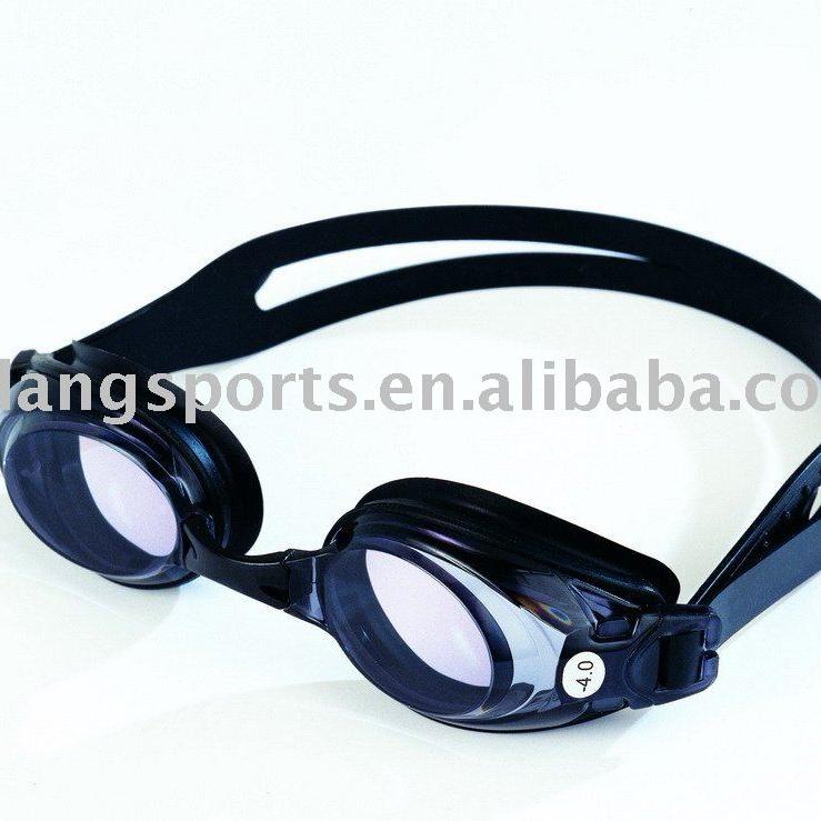 92c30ac70 جودة عالية نظارات السباحة البصرية/ نظارات طبية، عدسة زائد وناقص ...