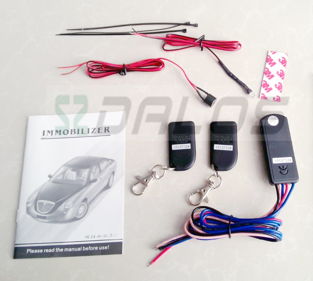 Newest RFID wireless relay car immobilizer 2.4GHz immobilizer key machine