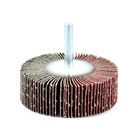10mm mounted aluminum oxide abrasive flap wheels for grinding polishing cleaning deburring