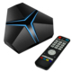 Magicsee iron 3gb32gb Storage dvb-c android tv box S912 Octa Android 7.1 internet google tv receiver 4k dual wifi 2.4G 5.8G