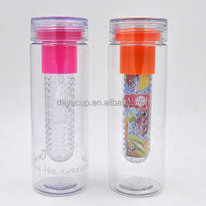 Most popular products BPA free fruit infuser water bottle drinking water jug infuser