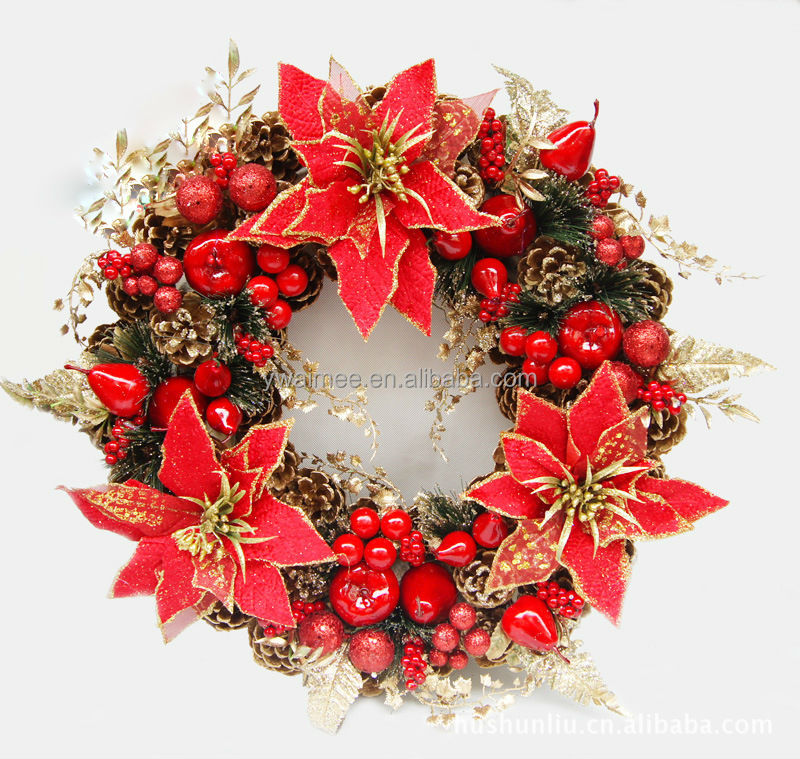 2014 Wholesale Christmas Wreaths Ornament Suppliers,Chinese ...