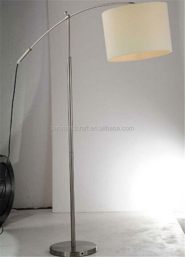 Saa Australia Style Adjustable Chrome Arc Floor Lamp With Off ...