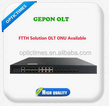 FTTH solution 1 U 4/8 PON port epon/gpon/gepon olt