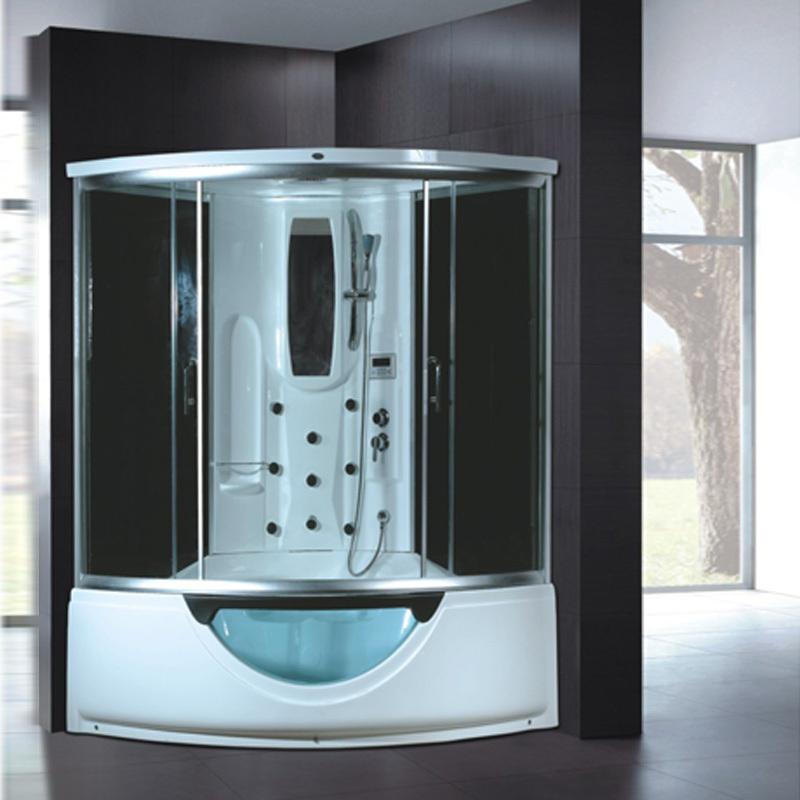 Mẫu phòng tắm xông hơi đẹp, hiện đại