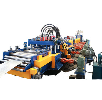 2019 China new design automatic changing cold roll forming machine for construction