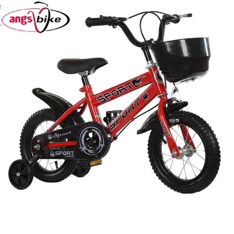 """Hand Brake Hot Wheels 14/"""" Kids Bike Training Wheels Red Ages 4-7 BMX Bike"""