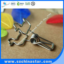 Cute promotional magnetic plastic slide binder clips