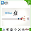 CE H03VV-F cable 2/3/4 cores 0.5mm 0.75mm 4mm extension power cords