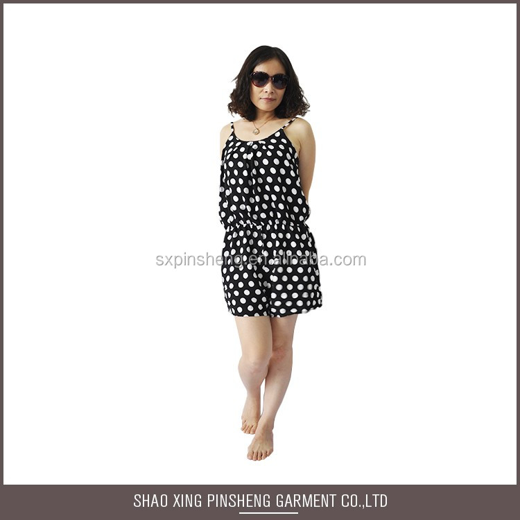 China Manufacturer Fashion Designer sleeveless beachwear dress women