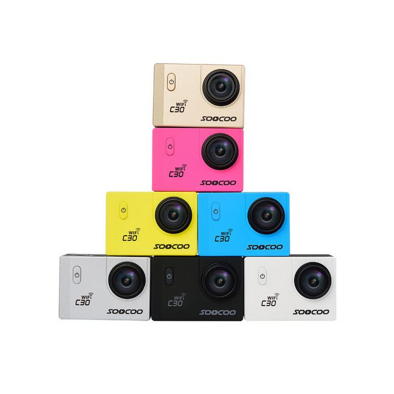 C30 2.0 Inch Ultra HD Action Camera 4K 20MP 70-170 Degree Wide-angles Available