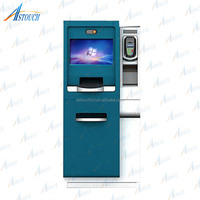 Self Service Utility Billing Financial Bank Payment Kiosk with Bill Validator Credit Card Reader Optonal