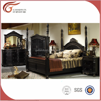 American And Middle East Antique Malaysia Bedroom Furniture With Black  Color - Buy Antique Bedroom Furniture,American Antique Malaysia Bedroom ...