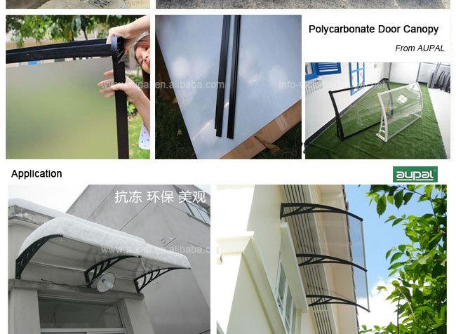 Trade Assurance, Outdoor Garden Canopy Patio Window Awning Sun Shade Rain  Shelter Cover 1x5m DIY
