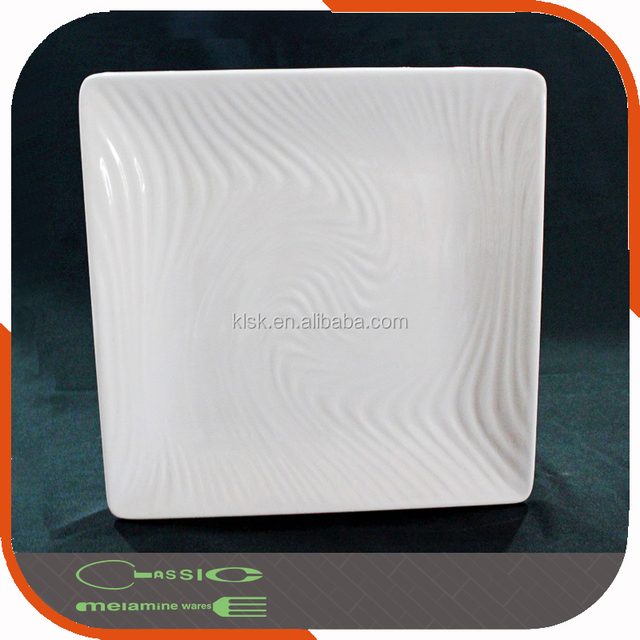 Square shape china factory supply plastic melamine cheap bulk dinner plates & bulk square plastic plates-Source quality bulk square plastic plates ...