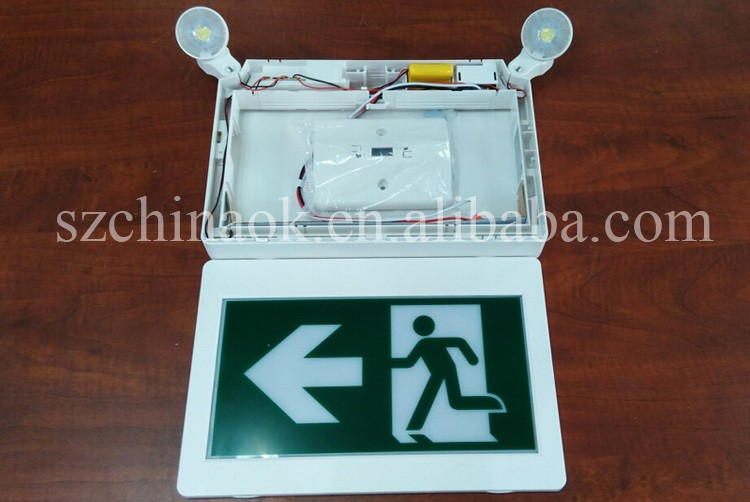 Canada Cul Csa Thermoplastic Material Running Man Emergency Led ...
