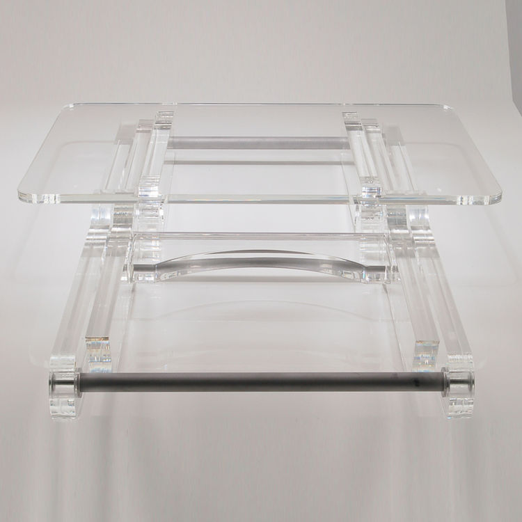 Clear Acrylic Tv Tray Or Folding Coffee Table - Buy Acrylic Folding Table,Folding Tv Trays,Cheap