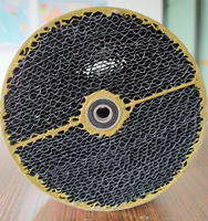 Thin wall and high strength Honeycomb activated carbon rotor concentrator for VOCs abatement system