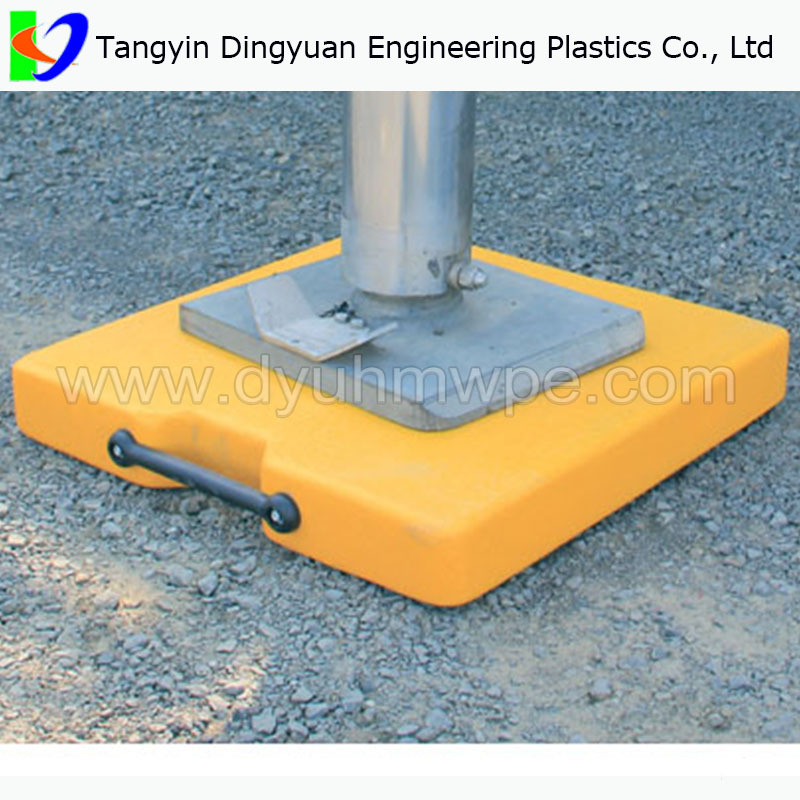 Uhmwpe Outrigger Pad Trailer Plate Jack Pads Track Support