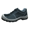 Low ankle Genuine leather pu sole steel toe safety work shoes