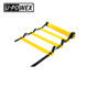 High quality adjustable custom double rubber agility ladder with handle set and cones