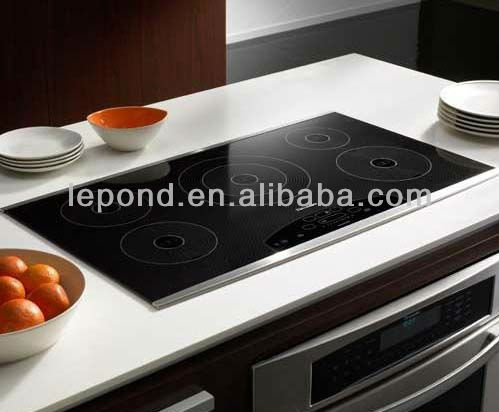 high quality black Microcrystalline glass / Electric pottery stove glass/ceramic glass cooktop