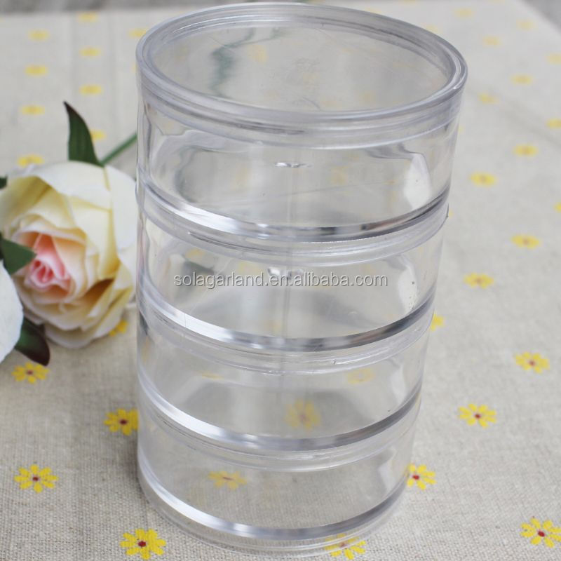 20 Styles Plastic Beads Container Box Jewelry Display Craft Storage Glass Bottle