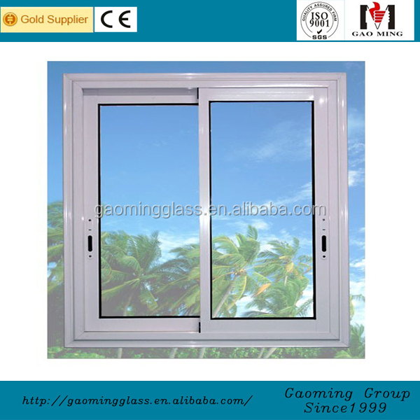 Aluminum profile sliding stainless steel window grill design