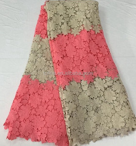 Wholesale top quality embroidery african lace fabrics exquisite nigerian lace for wedding dresses