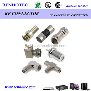 TV antenna RF adapter connectors bnc F type SMA N type connector