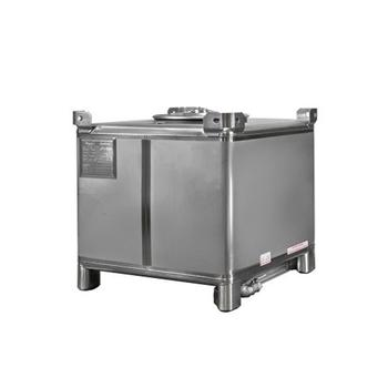 stainless steel storage rectangular used ibc tank 1000l
