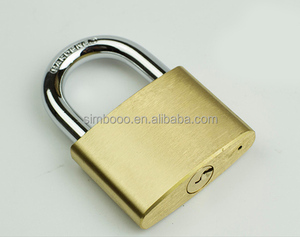 Brass Padlocks 3 Keys 30MM